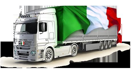 Транспортировка грузов из Италии